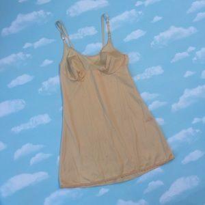 1960's Nude Mini Slip